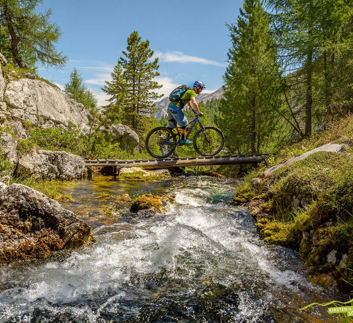 Südtirol und Tauferer Ahrntal Eldorado für Mountainbiker