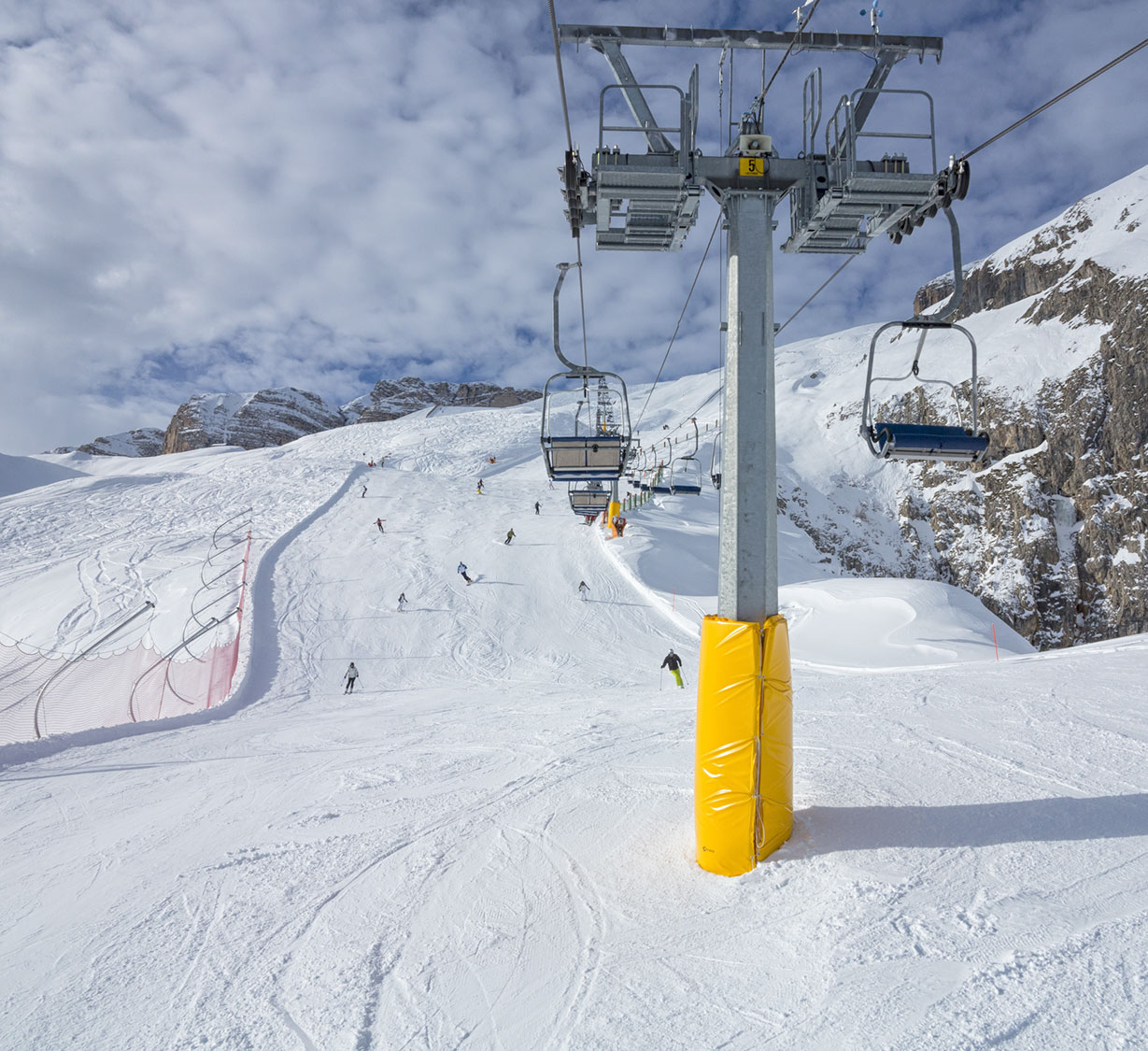 La Sella Ronda nelle Dolomiti