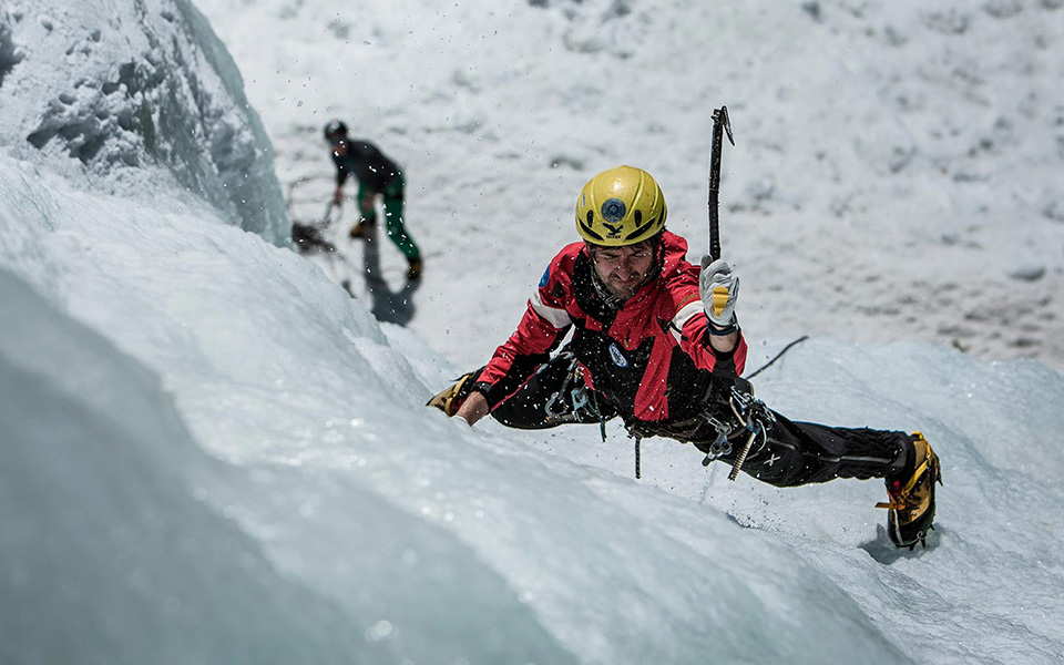 The fascination of ice climbing