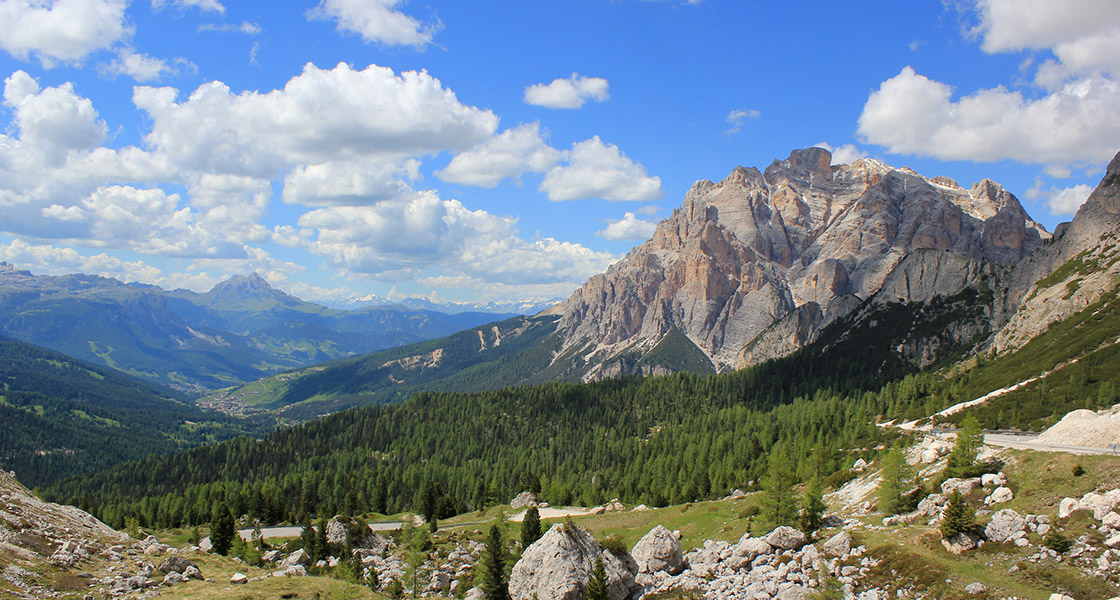Round-trip in the Dolomites, UNESCO World Natural Heritage